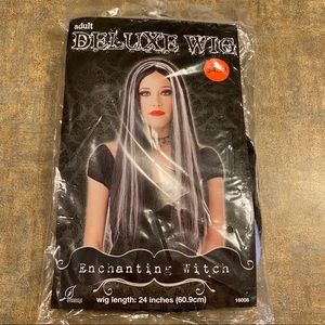 NWT Adult Deluxe Enchanting Witch Wig